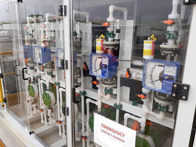 servicio programa de mejora instalación dosificacion milton roy BÓREAS AGUA E INDUSTRIA